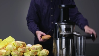 Juicing A Hamburger From McDonald's Is A Culinary Nightmare