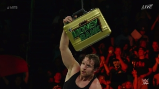 Dean Ambrose Wins The WWE Money In The Bank Ladder Match