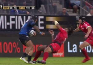 A Rugby Player Was Knocked Out Cold In This Scary, Brutal Collision