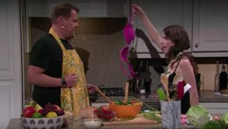 James Corden And Anna Kendrick Fall In And Out Of Love And In Again During Musical Medley