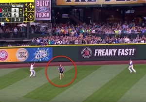 This Fan Found A Way To Make Running Onto The Field Even Dumber