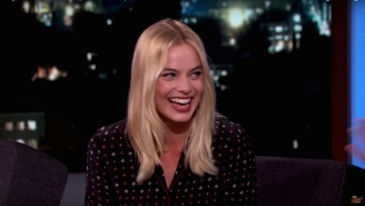 Margot Robbie Really Did Spit On Christoph Waltz's Face In 'The Legend Of Tarzan'