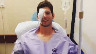 A Phillies Prospect Lost An Eye After A Freak Stretching Accident