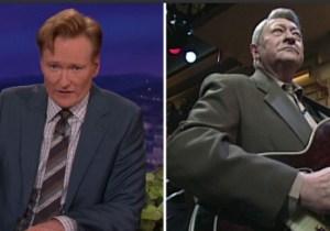 Conan O'Brien Paid Tribute To Late Elvis Presley Guitarist Scotty Moore