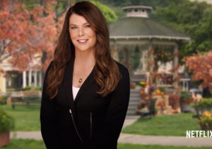 Lauren Graham announces that 'Gilmore Girls' will be available worldwide