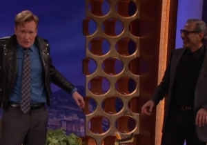 Jeff Goldblum And Conan Swap Jackets With Hilariously Weird Effect