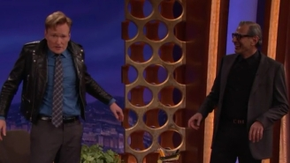 Jeff Goldblum And Conan Swap Jackets With Hilariously Weird Effect