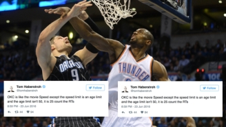 The Internet Is Dizzied, Dazed And Distraught By The Serge Ibaka Trade To The Magic