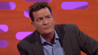Charlie Sheen Doesn't Think Much Of Donald Trump And A Crappy Wedding Gift Didn't Help Matters