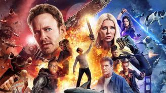 'Sharknado 4' trailer: Ian Ziering attacks shark with his crotch
