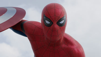 'Spider-Man: Homecoming' photos offer fans their best look yet at Tom Holland's costume