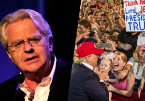 Jerry Springer Thinks Donald Trump Disrespects America With His Theatrical Ways