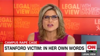 A CNN Anchor Gets Emotional While Reading The Stanford Rape Survivor's Devastating Letter