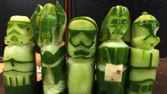 This 'Star Wars' Sushi Is So Well Done, Eating It Would Break Your Heart