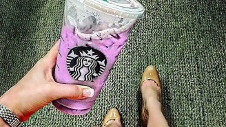People Are Losing Their Sh*t Over This New Starbucks Purple Drink