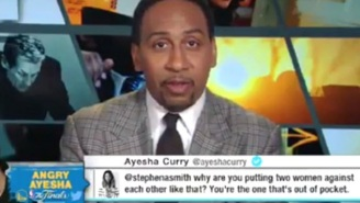 Ayesha Curry Fires Back At Stephen A. Smith After He Compares Her To LeBron James' Wife