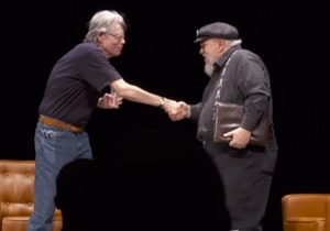 George R.R. Martin asks Stephen King the one question we've all wondered