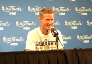 Former Role-Player Steve Kerr Knows 'There's Something Powerful' About A Deep Bench