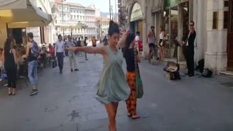 This Father Inspiring His Daughter To Dance In The Street May Leave You In Tears