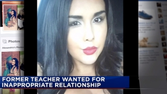 A Middle School English Teacher Is Wanted By Police After Getting Pregnant With A Student's Child