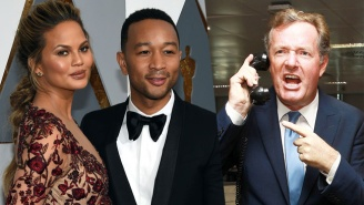 Chrissy Teigen And John Legend Delivered The Perfect Knockout To Piers Morgan