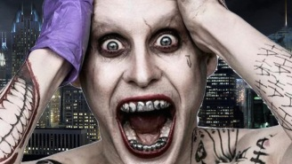 Looks like the 'Suicide Squad' director took the Joker's 'Fight Club' background a bit too seriously