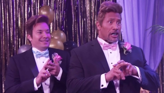 The Rock Looks Like A Fool As He Travels Back To Senior Prom With Jimmy Fallon