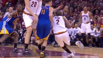 Klay Thompson Explains Why Timofey Mozgov's Screen 'Seemed Kind Of Dirty'
