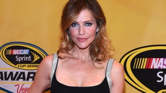 'Battlestar Galactica' alum Tricia Helfer's next role: the mother from Hell, literally