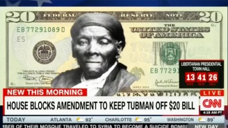 The Congressman Who Thinks Harriet Tubman On The $20 Is 'Racist' Loses His Bid