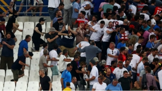 The Fights Between Fans At Euro '16 Are Terrifying And Completely Out Of Control