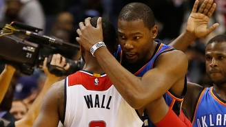 Kevin Durant Reportedly Has No Interest Whatsoever In Playing For His Hometown Wizards