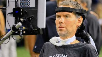 Steve Gleason Brought Down The House By Calling Sean Payton 'A P*ssy' During His Biopic Premiere