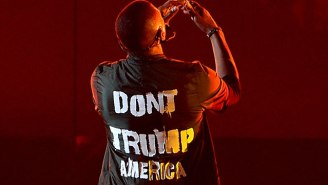 Now You Can Rock 'Don't Trump America' Shirts Just Like Usher Did At The 2016 BET Awards