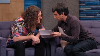 Nathan Fielder Helps 'Weird Al' Yankovic Negotiate A New Contract On 'Comedy Bang! Bang!'