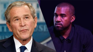 George W. Bush Had A Surprising Reaction To His Appearance In Kanye West's 'Famous' Video