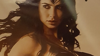FFS, why is Wonder Woman posed like THIS in her latest poster?