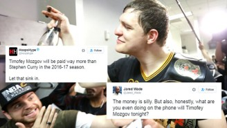 Nobody Knows What To Make Of Timofey Mozgov's Ludicrous Lakers Deal