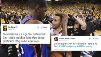 Twitter Is Convinced The Kevin Durant Deal Signals The End Of The NBA