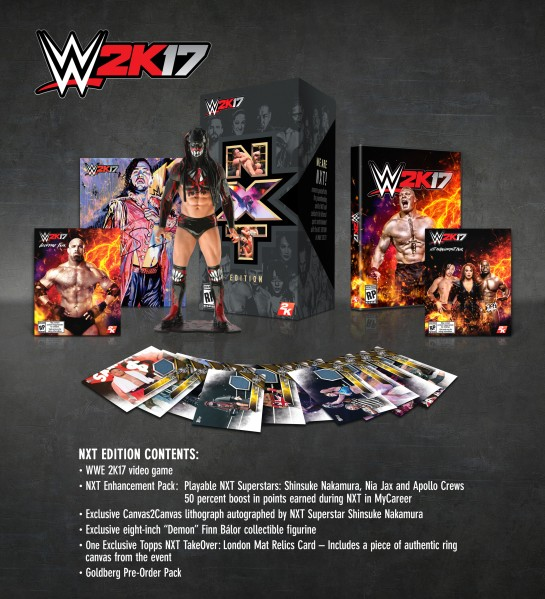 WWE 2K17 NXT Collectors Edition
