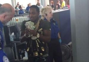 Adrien Broner Tried To Act Like Money Mayweather, But TSA Wasn't Having It