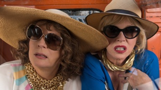 'Absolutely Fabulous: The Movie' Finds Its Heroines Taking Their Quest For Good Times To The Big Screen