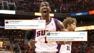 Amar'e Stoudemire's Retirement Inspired An Outpouring Of Tributes From Past And Present Players