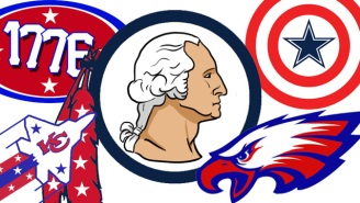 Celebrate The Most American Time Of The Year With These Patriotic NFL Logos