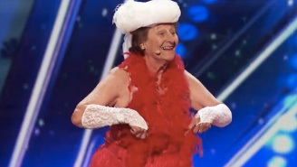 Let This 90-Year-Old Burlesque Dancer On 'America's Got Talent' Give You Brand-New #LifeGoals