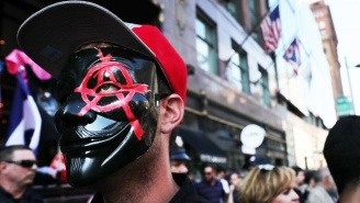 Masked Anarchists Are Roaming Around The RNC With Backpacks Full Of Urine
