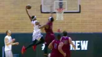 Andre Drummond Got Dunked On Two Separate Times At Drew League Over The Weekend
