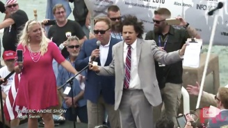 Eric Andre Recalls How He Thought He Was 'Going To Die' At The RNC
