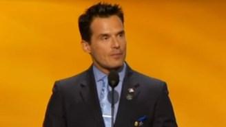 No Really, Antonio Sabato Jr. Of 'General Hospital' Fame Spoke At The Republican Convention