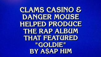 Jeopardy!'s A$AP Rocky And Clams Casino Question Makes It TV's Most Hip-Hop Trivia Show